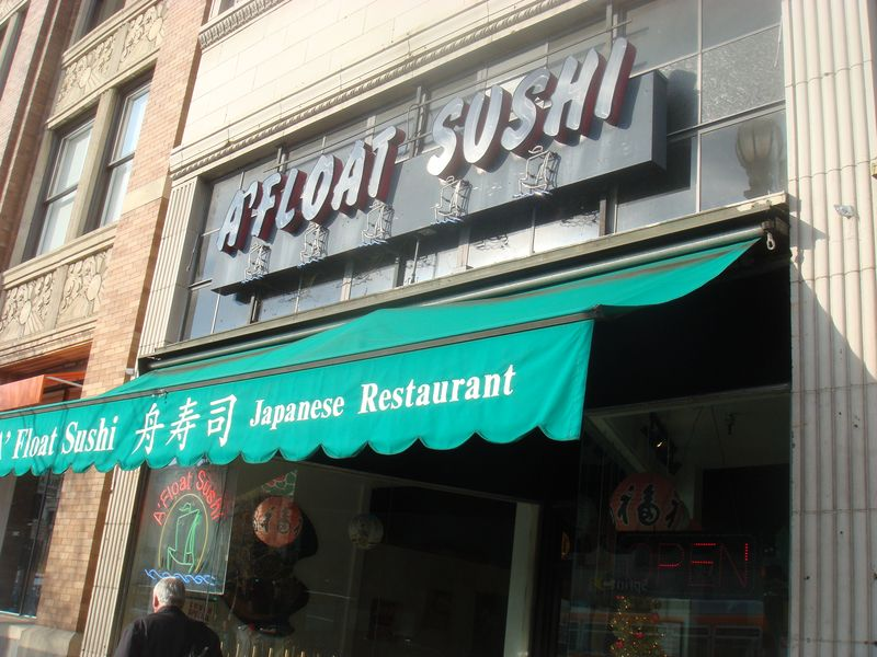a float sushi 2