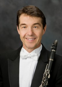 Clarinetist David Nicholson