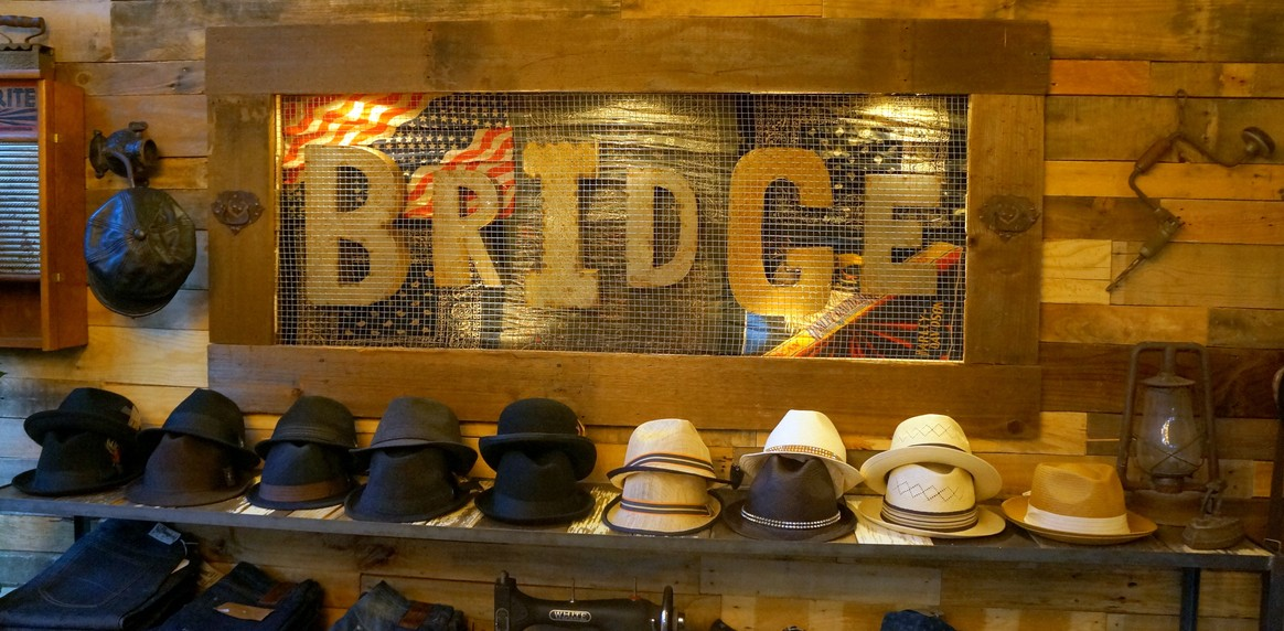 Bridge a men s clothing and accessory shop in old pasadena for 18 8 salon pasadena