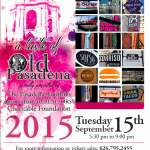 A Taste of Old Pasadena on September 15, 2015.