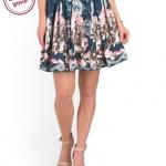 TJMaxx's Trendy Floral Fashions.