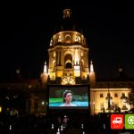 EAT SEE HEAR brings movies to Centennial Square at Pasadena City Hall