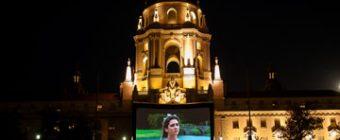 EAT SEE HEAR brings movies to Centennial Square at Pasadena City Hall