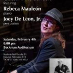 Caltech Jazz Band to feature guest artists Mauleon and De Leon.