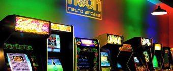 Neon Retro Arcade in Pasadena