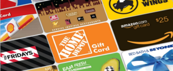 Gift Cards for Holiday Season.