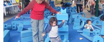 Imagination Playground tour stops at Pasadena's Kidspace Museum