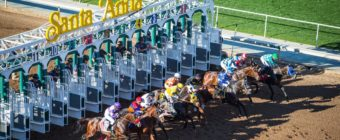 "Peter Dills writes about Santa Anita Race Track — his ""home away from home."""