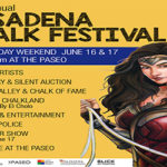 The Paseo to host 26th annual Pasadena Chalk Festival