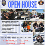Pasadena police Department 2nd Annual Open House.